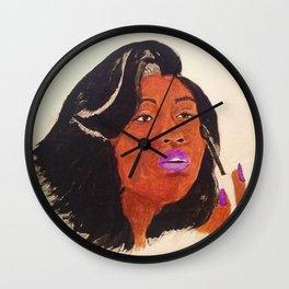 Jazmine Sullivan Wall Clock