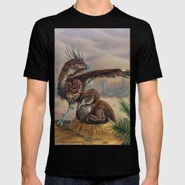 Brooding Velociraptors T-shirt