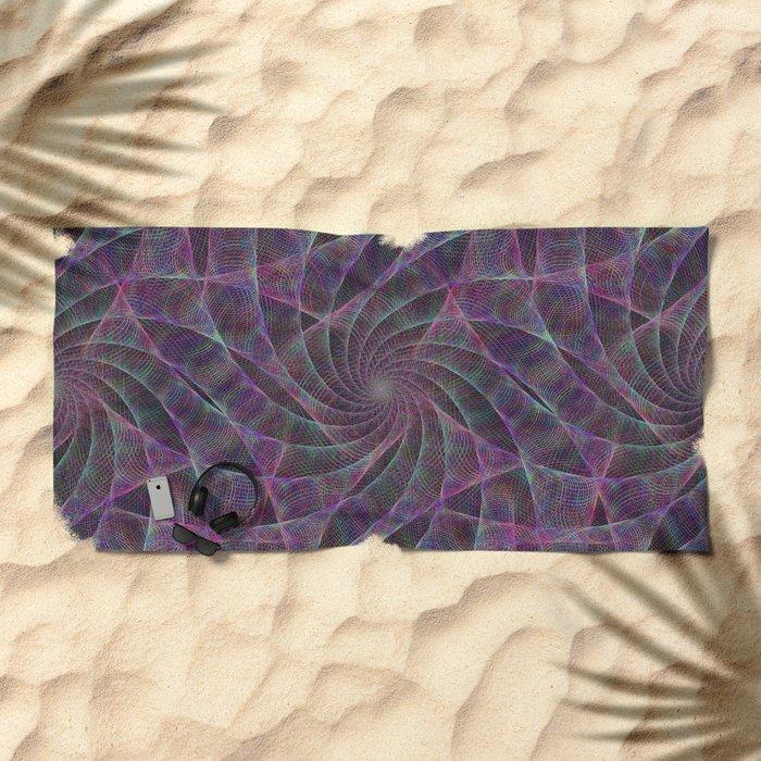 Spider's Fancy Castle Beach Towel
