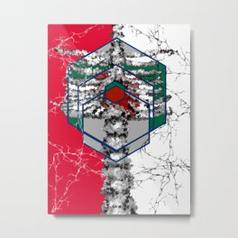 SE骨 Metal Print