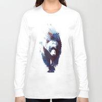 run Long Sleeve T-shirts featuring Death run by Robert Farkas