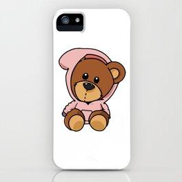 Hoody Bear iPhone Case