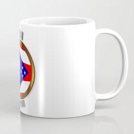 Ohio Proud Flag Button Coffee Mug