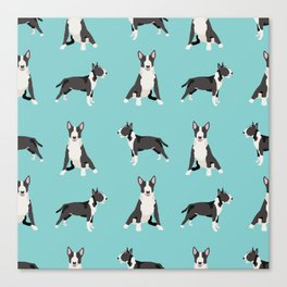 Bull Terrier dog breed pet friendly gifts terriers bull terriers Canvas Print