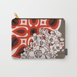Mid Century Hawaiian Carry-All Pouch