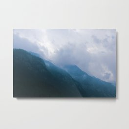 Foggy Hights Metal Print