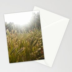 Wheat and poppies Stationery Cards