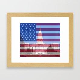 United States Capitol Building Framed Art Print