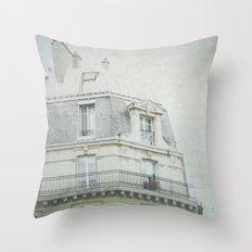 Letters From la vie à Paris Throw Pillow