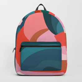 Mid Century Abstract 001 Backpack
