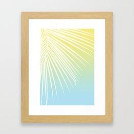 Pastel Palm 03 Framed Art Print