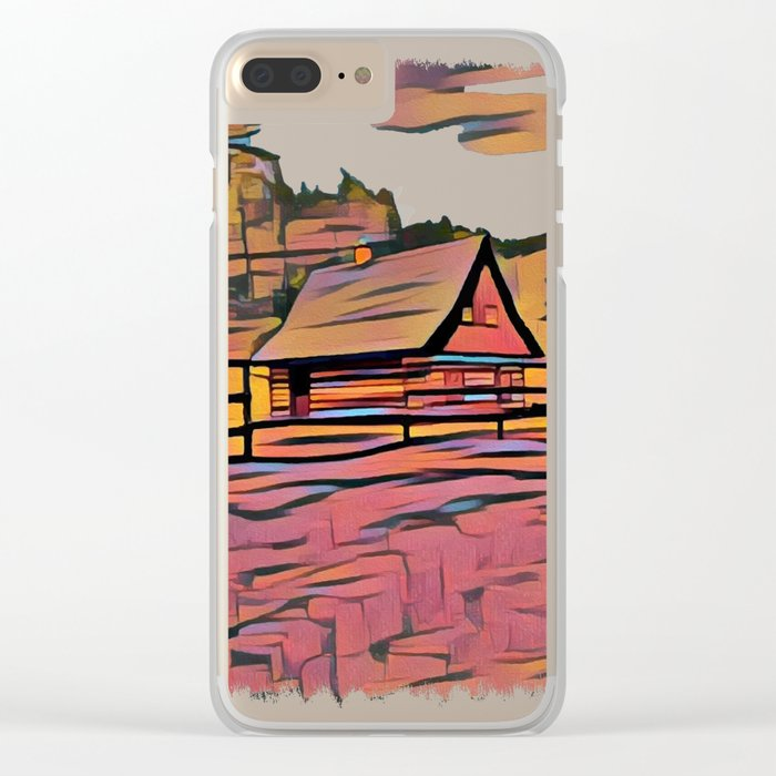 Country House Clear iPhone Case