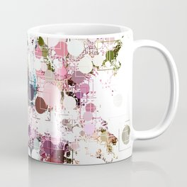 Decorative Subdued Pastel Pattern Abstract Coffee Mug