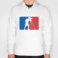 league Hoodies featuring Landscape League by Preston Lee Design