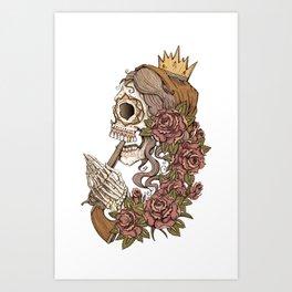 Suicide Sin Art Print