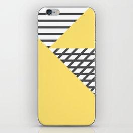 dismantled pattern iPhone Skin