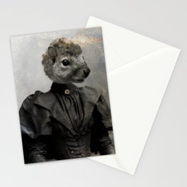 Miss Squirrel Stationery Cards