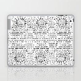 Lace Stamp Laptop & iPad Skin