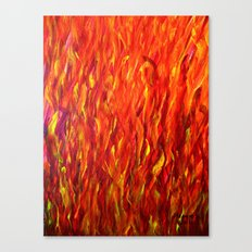 Flames/abstract Canvas Print