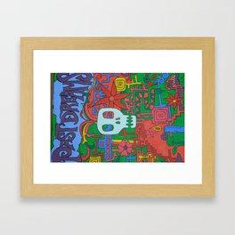 Past Dreams Framed Art Print