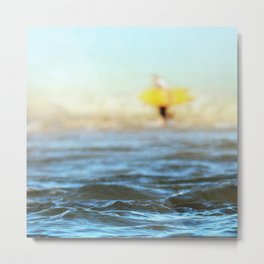 Summer Longing Metal Print