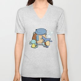 Pokémon - Number 7, 8 & 9 Unisex V-Neck