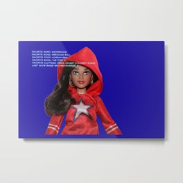 Dating for Super Heroes: America Chavez Metal Print