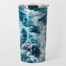 Stormy Ocean Waters Travel Mug