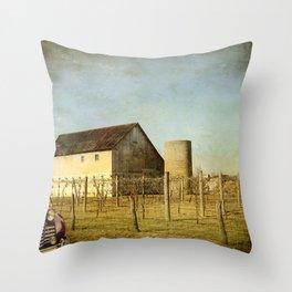 Wine Craft Throw Pillow