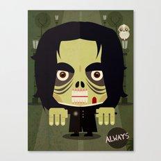 Alan Zombie Canvas Print