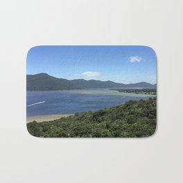 Florianopolis Beach Landscape Bath Mat