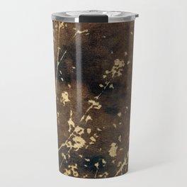 Toned Garden Cyanatope Print Travel Mug