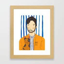 THE FURRIES #07 Framed Art Print