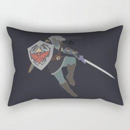 Link(Smash)Dark Rectangular Pillow