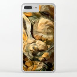 Splitting Hares Clear iPhone Case