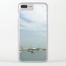 View of sea Clear iPhone Case