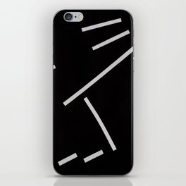 Diagonals II iPhone Skin