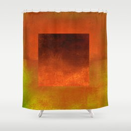 Square Composition VII Shower Curtain