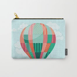 Hot air balloon in the sky Carry-All Pouch