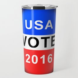 Vote Button 2016 Travel Mug