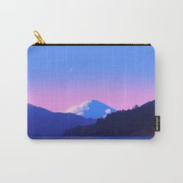 Mount Fuji Sunrise Carry-All Pouch