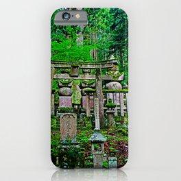 okunoin cemetery iPhone Case