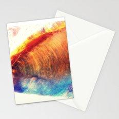 Rainbow Wave Stationery Cards