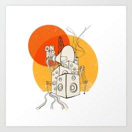 Radio Satla Art Print