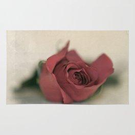 Single Rose fine art photography Rug