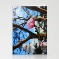 political Stationery Cards featuring pink and political  by Zoe Green
