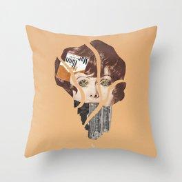 C-Sticks Throw Pillow