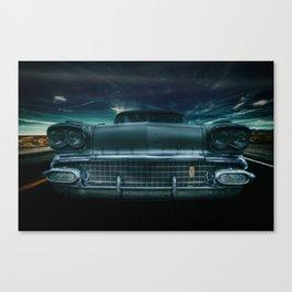 1958 Pontiac star chief catalina Canvas Print