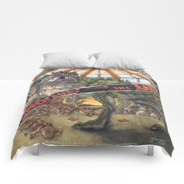 When Dinosaurs Ruled the Earth - Jurassic Park T-Rex Comforters