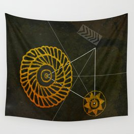 Looking for Ancestral Treasures Wall Tapestry